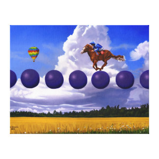 "Surreal Art Canvas Print ""An Insignificant Race"""