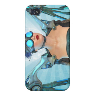 Surreal Art Mech Angel Cover For iPhone 4