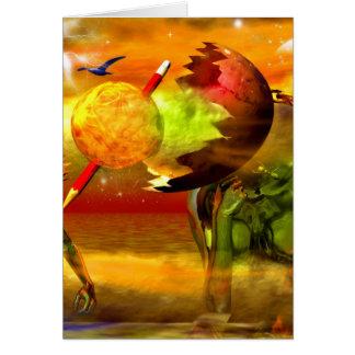 Surreal artworks cards