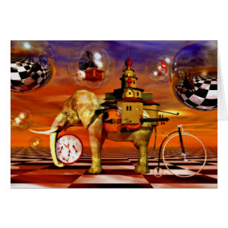 Surreal artworks greeting cards