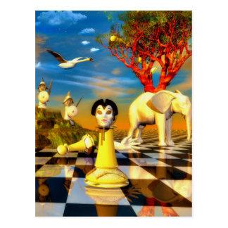 Surreal artworks post cards