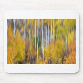 Surreal Aspen Tree Magic Abstract Art Mouse Pad