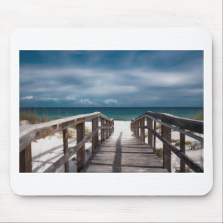 Surreal Beach Mouse Pad