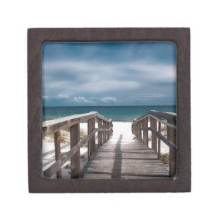 Surreal Beach Premium Trinket Boxes