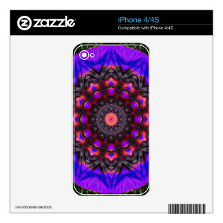 Surreal Blossoms, Flower Mandala Skins For The iPhone 4S