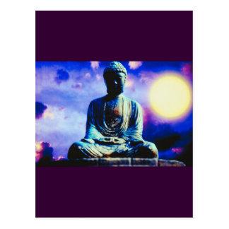 Surreal Buddha Postcard