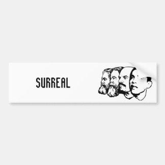 SURREAL bumper sticker Car Bumper Sticker