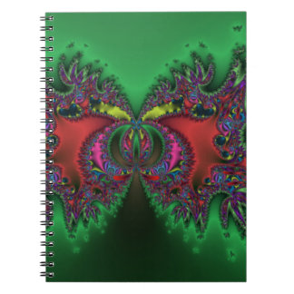 Surreal Butterfly Spiral Notebook
