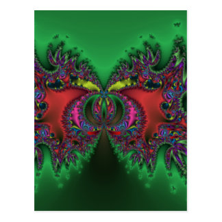 Surreal Butterfly Postcard