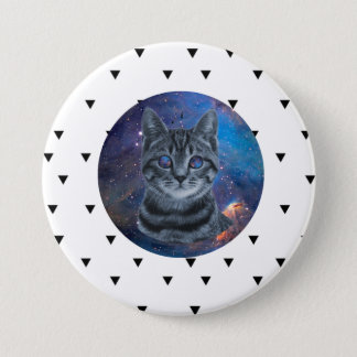 Surreal Cat Button