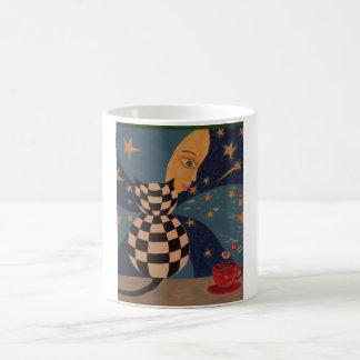 Surreal Cat Magic Mug