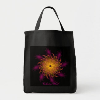 Surreal Catherine Wheel Canvas Bag