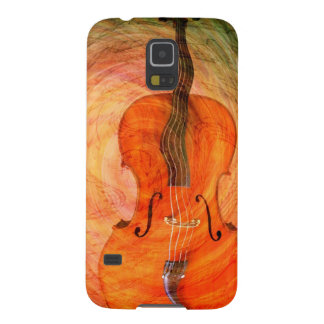 Surreal Cello With Musical Notes Galaxy S5 Cover