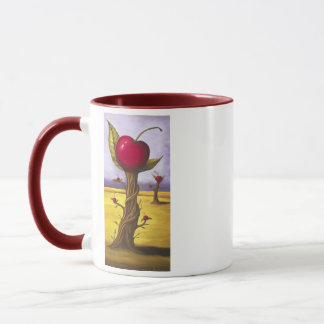 Surreal Cherry Tree Mug