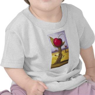 Surreal Cherry Tree Tee Shirts