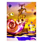 Surreal chess art paintings  fantastic art post card