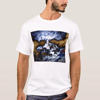 Surreal Cirrocumulus undulatus and Brown Storm Clo T-Shirt