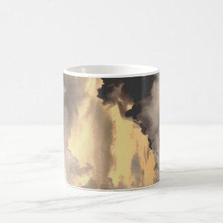 surreal clouds #1 coffee mug