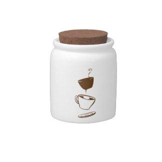Surreal Coffee Candy Jars