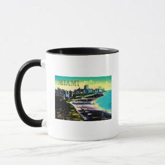 Surreal Colors of Miami Beach Florida Mug