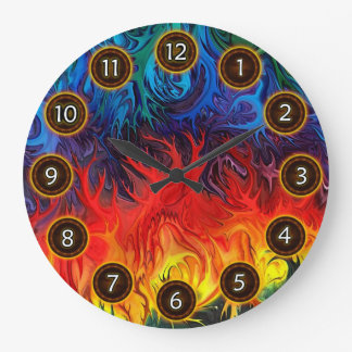 Surreal dance by rafi talby large clock