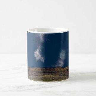 Surreal Desert Landscape Classic White Coffee Mug