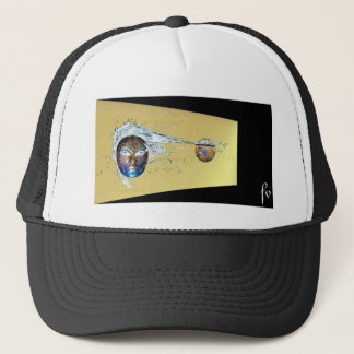 SURREAL DIGITAL ART TRUCKER HAT