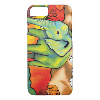 Surreal Elephants iPhone 7 Case