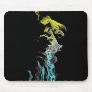 Surreal Fire Mouse Pad