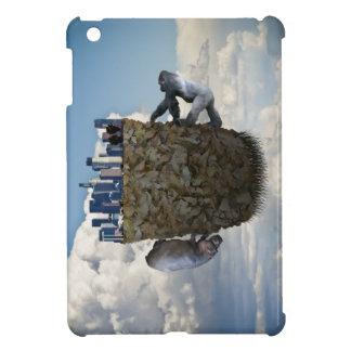 Surreal floating Los Angeles/animal iPad mini case