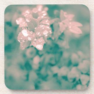 Surreal Floral Coaster