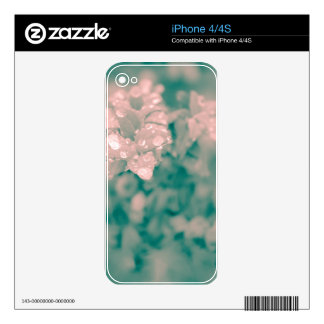 Surreal Floral Decals For iPhone 4S