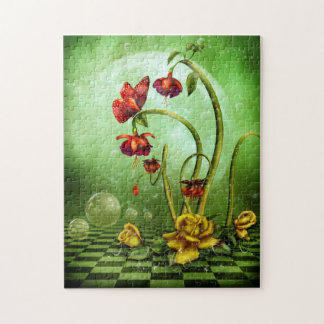 Surreal Flower Fantasy Puzzle