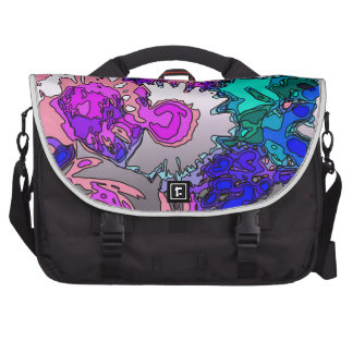 Surreal Flowers,pink Commuter Bags