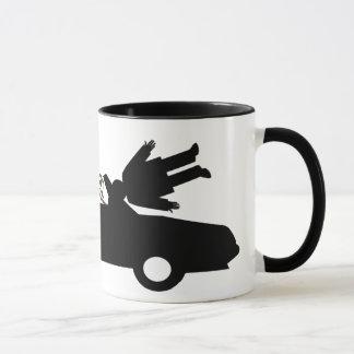 Surreal fly mug