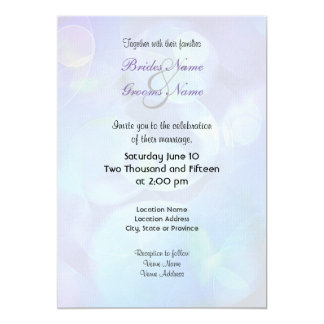Surreal Fractal Abstract Design 5x7 Paper Invitation Card