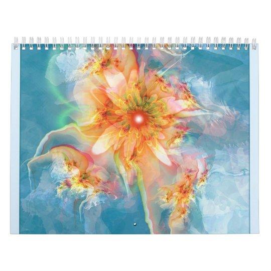 surreal fractals calendar