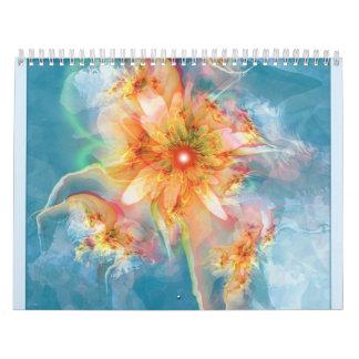 surreal fractals calendars