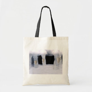 Surreal Frozen Ice Men Tote Bags