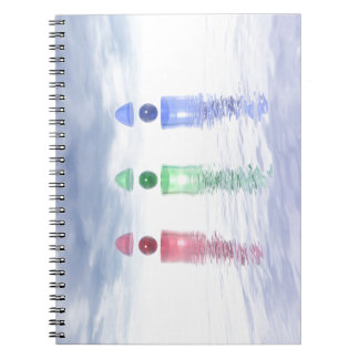 Surreal Glass Structures Notebook