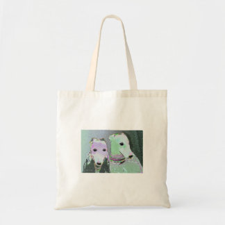 Surreal Greyhounds Masterpiece Tote Canvas Bag