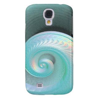 Surreal Jade Rainbow Shell Galaxy S4 Case