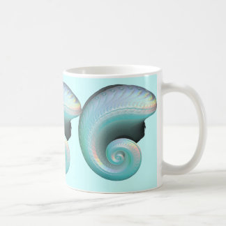 Surreal Jade Rainbow Shell Classic White Coffee Mug