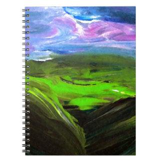 Surreal Landscape CricketDiane Art Products Notebooks