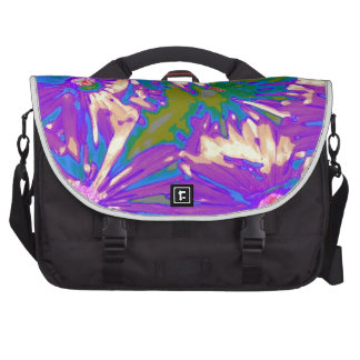 Surreal lavender Flowers Commuter Bags