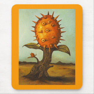 Surreal Melon Tree Mouse Pad