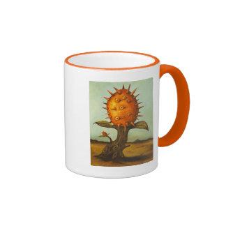 Surreal Melon Tree Ringer Coffee Mug
