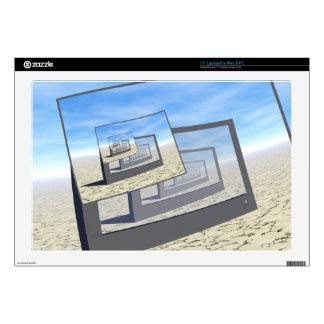 """Surreal Monitors Infinite Loop Skins For 17"""" Laptops"""