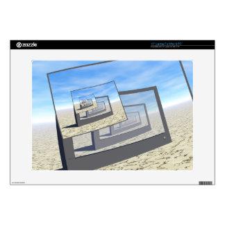 Surreal Monitors Infinite Loop Laptop Decal
