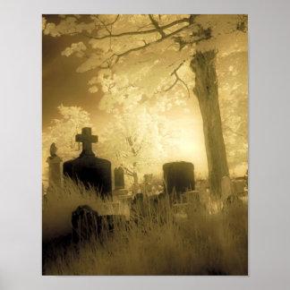 Surreal Necropolis Poster